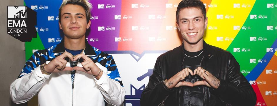 Benji & Fede @ MTV EMA 2017